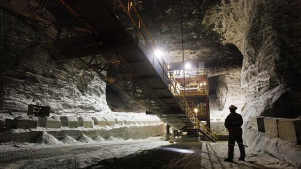 Sifto salt mine temporarily lays off 50 workers ctv for Landscaping rocks windsor ontario